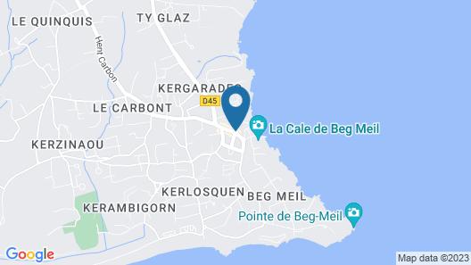 Résidence Le Domaine des Glénan Map