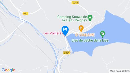 Auberge des Voiliers Map
