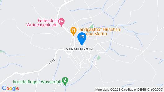 Apartment Rosa in Hüfingen - 4 Persons, 1 Bedrooms Map