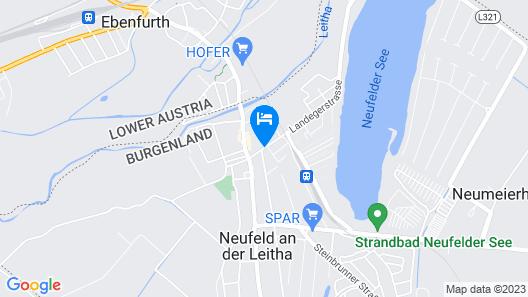 Privatzimmer Johannes Map