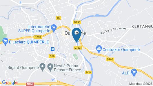 Le Brizeux Map