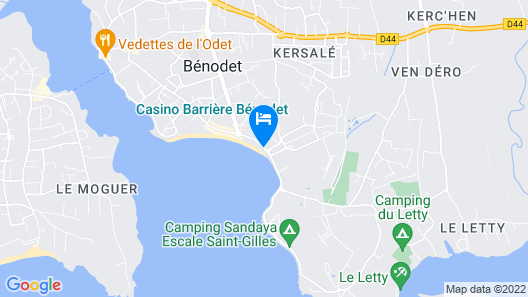 Kastel Wellness Hôtel Thalasso & Spa Map