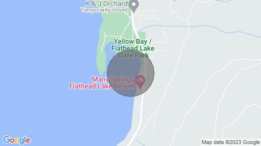 New! Brilliant Flathead Lake Home in Yellow Bay! Map