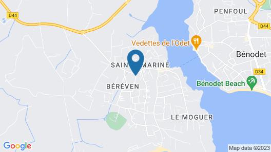 La Maison de Gabrielle Map