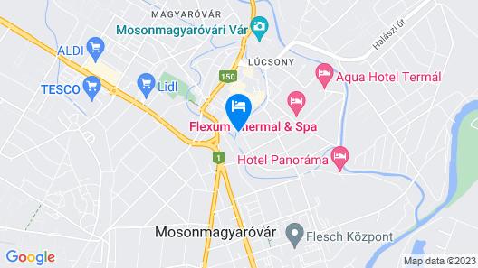 Hotel Lajta Park Map