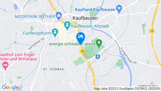 Felix Hotel Kaufbeuren Map