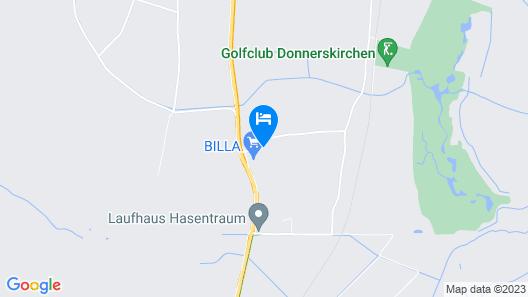 Hotel Weinland Donnerskirchen Map