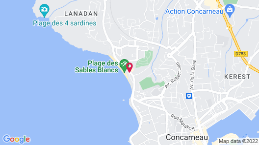 Thalasso Concarneau Spa Marin Resort Map