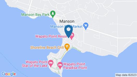 Wapato Point Resort Map