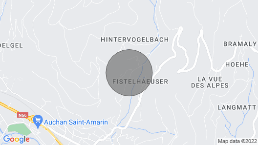 Cottage, Chalet in Alsace With Private SPA and Sauna-wifi Vosges Mountains Map
