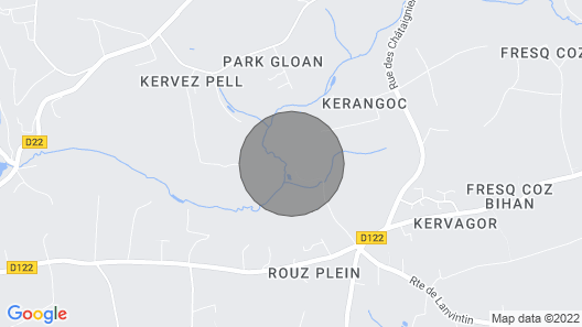 Concarneau, Former Mill of Kérangoc, in the Countryside, Near the Ocean, Wifi Map