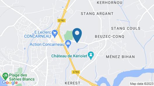 Le Petit Manoir de Keriolet Map