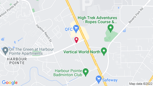 Extended Stay America Seattle - Mukilteo Map