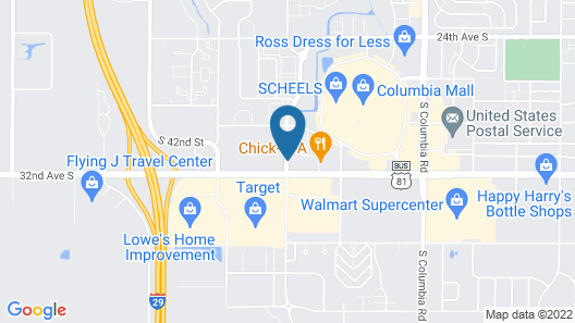 Best Western Harvest Inn & Suites Map