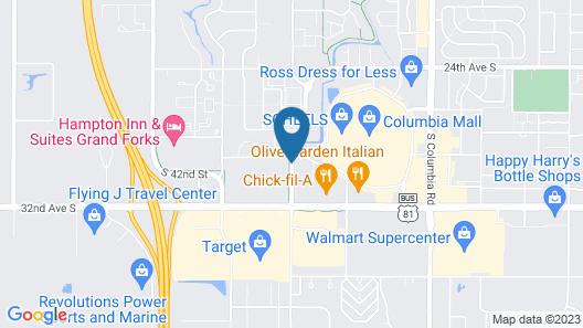Days Inn by Wyndham Grand Forks Columbia Mall Map