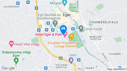 HOTEL EGER & PARK Map