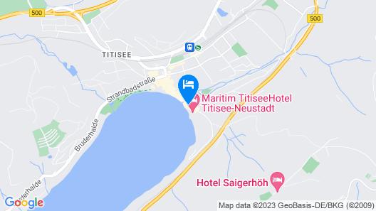 Maritim TitiseeHotel Titisee-Neustadt Map