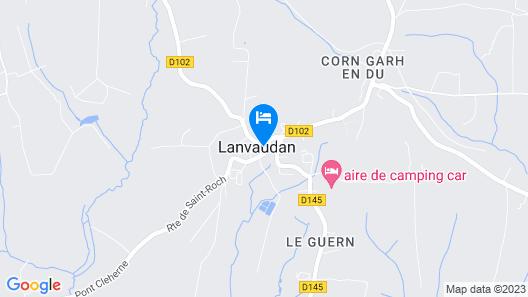 Le Roseau Map