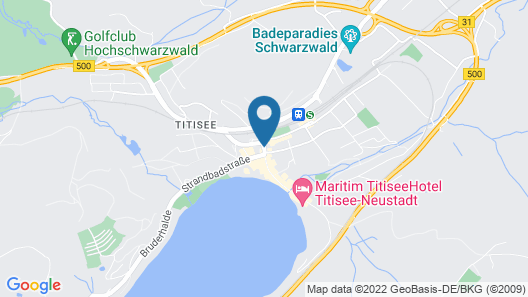 Gästehaus Café Heck Map