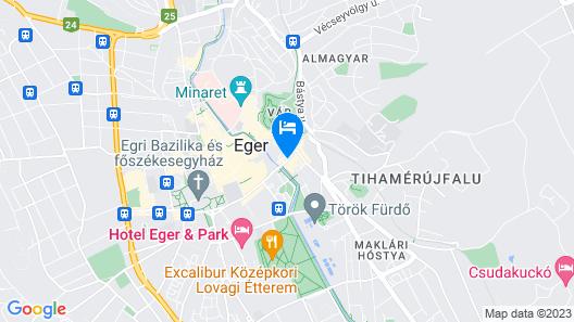 Hotel Unicornis Map
