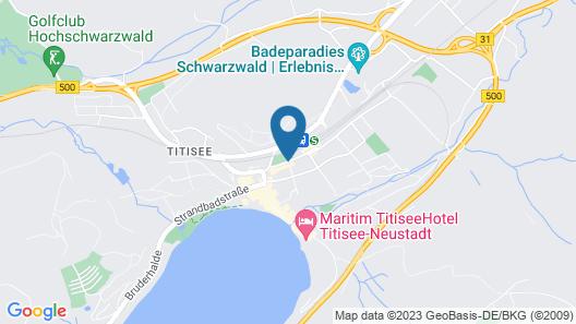 Parkhotel Waldeck Map