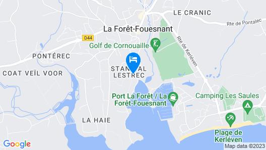 Auberge du Vieux Port Map