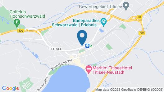 Hotel Bären Titisee Map