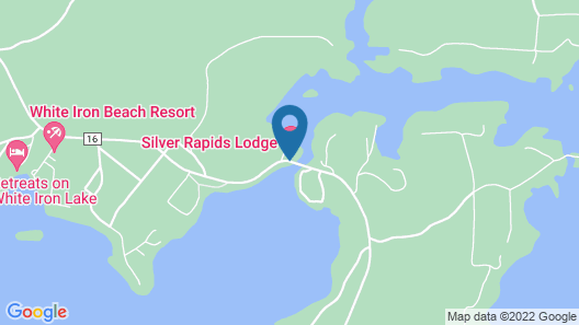 Silver Rapids Lodge Map