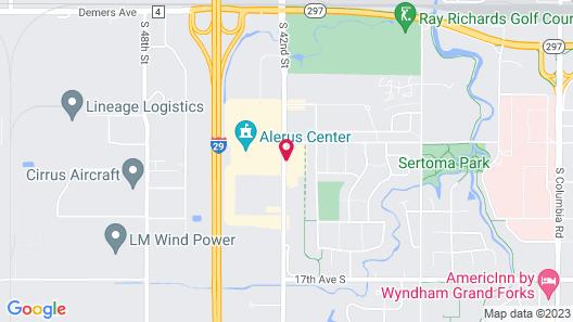Staybridge Suites Grand Forks, an IHG Hotel Map