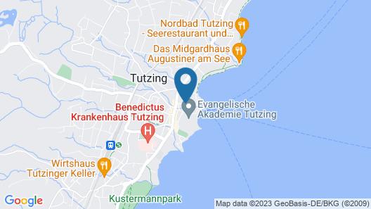 Boutique Hotel Reschen Map