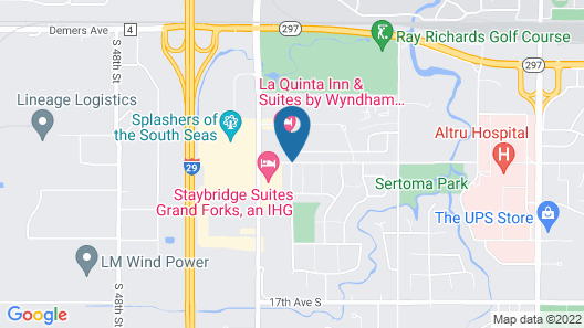 Expressway Suites of Grand Forks Map