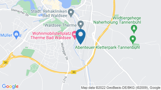 Parkhotel Map