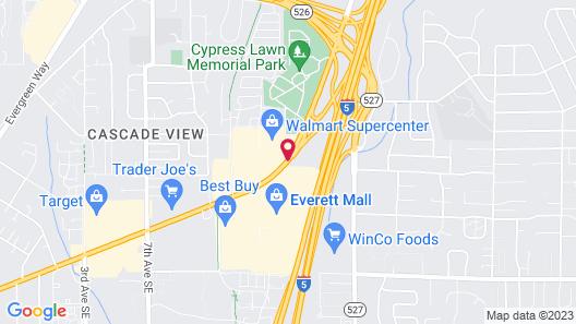 Days Inn by Wyndham Everett Map