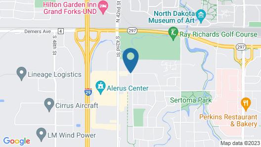 La Quinta Inn & Suites by Wyndham Grand Forks Map