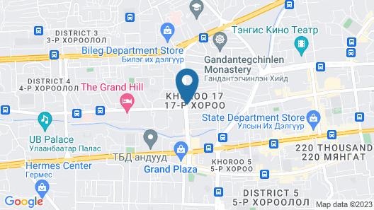 Nomado Boutique Hotel Map