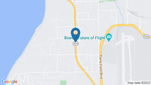 TownePlace Suites by Marriott Seattle Everett/Mukilteo Map
