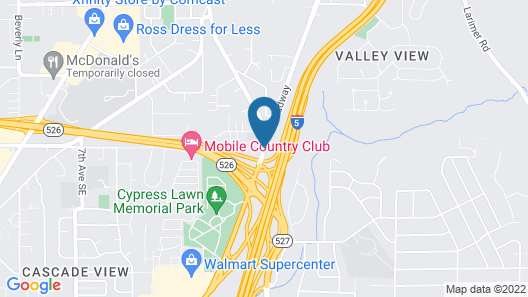 Extended Stay America - Seattle - Everett - North Map