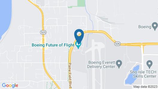 Hilton Garden Inn Seattle North/Everett Map