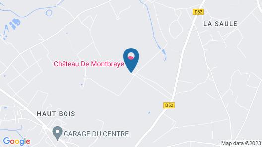 Chateau de Montbraye Map