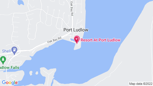 The Resort at Port Ludlow Map