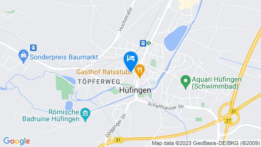 Apartment Albergo Natura in Hüfingen - 2 Persons, 1 Bedrooms Map