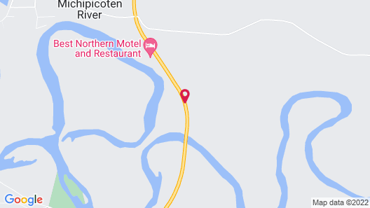 Best Northern Motel and Restaurant Map