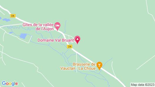 Chambres d'hôtes du Domaine Val Bruant Map