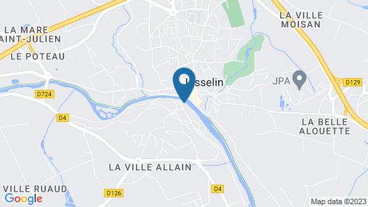 Logis Hotel du Chateau Map