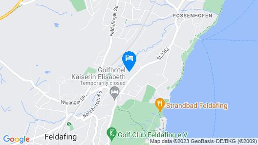 Hotel Residence Starnberger See Map