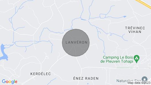 Appartement en Campagne Entre Quimper et Plages Map