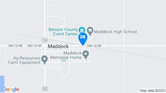 Grand Prairie Inn and Apartments Map