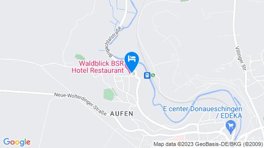 Hotel Waldblick Map