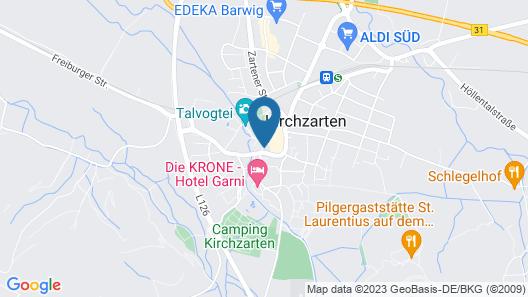 Hotel Sonne Map