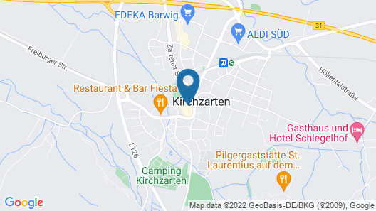 Hotel Fortuna Kirchzarten Map